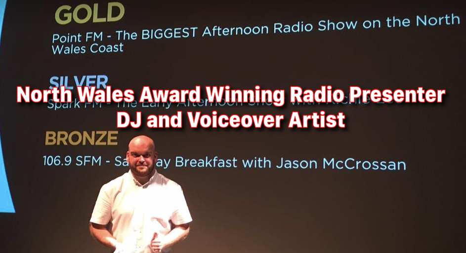 Craig K – North Wales award winning Radio Presenter and DJ