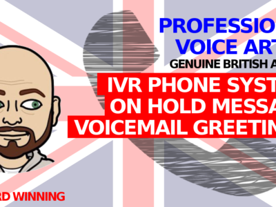 Answer phone and IVR phone system greeting messages