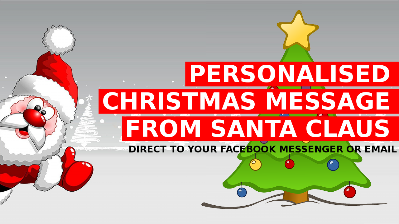Personalised Christmas Santa Claus Message – Payment