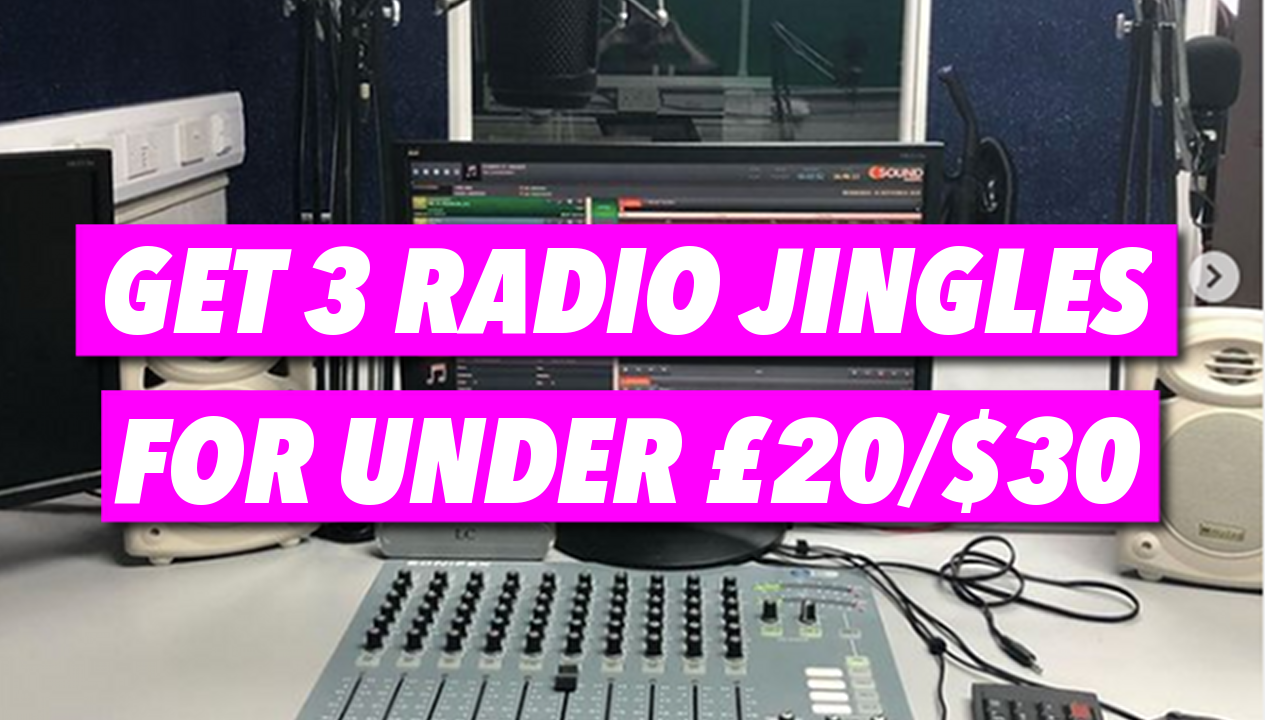 Affordable Radio Jingles, Promo and Imaging Production