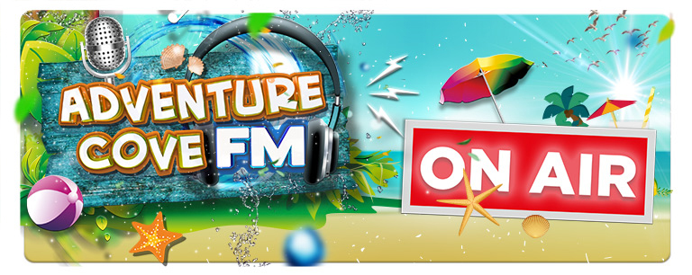 Drayton Manor   Adventure Cove FM voice over
